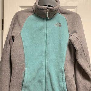 Women North Face fleece jacket